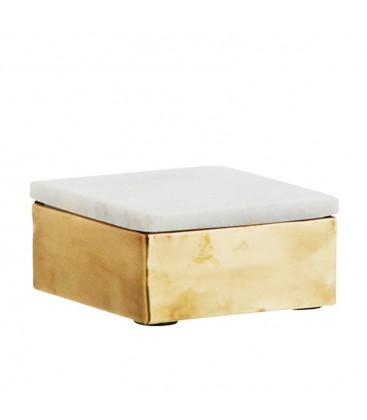 Box Marmor-Guld