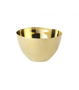 Skål Guld 8 cm