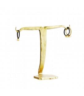 Smyckesställ Guld 12cm