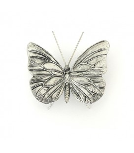 Dekor Fjäril Silver