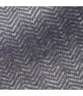 Pläd Herringbone titanium