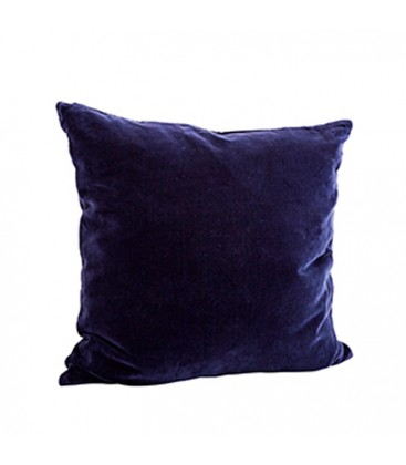 Kuddfodral blå sammet