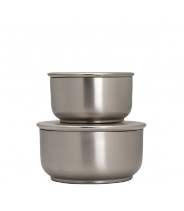 Förvaringsbox Silver 2 st