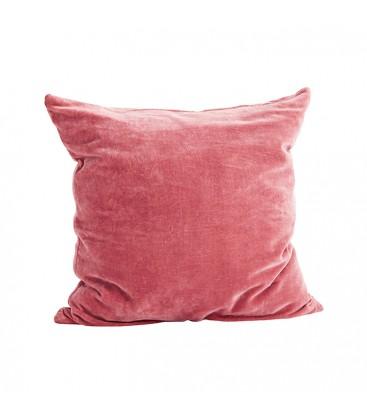 kuddfodral sammet rosa